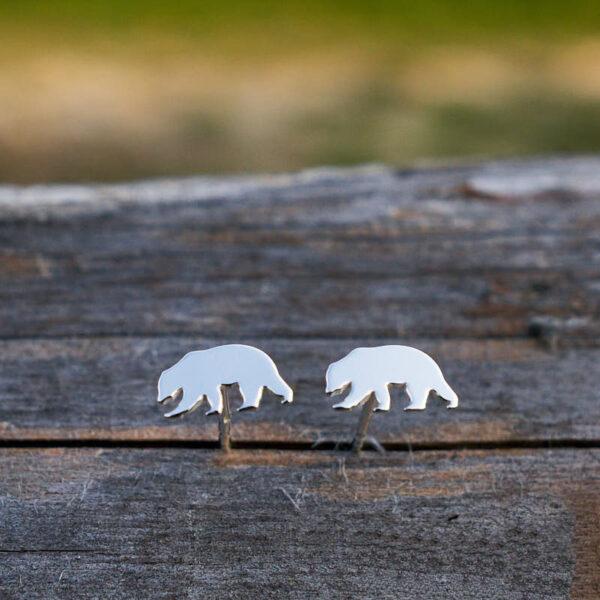 Kolczyki niedźwiedzie