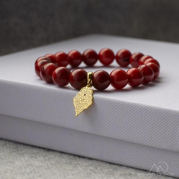 Bransoletka z parzenicą - Parvati Design