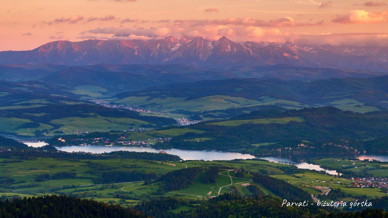 Panorama z Lubania